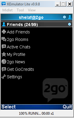 How to Use 2go Chat Messenger with Kemulator on PC (Even